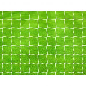Precision Football Goal Nets 4mm Knotted (Pair)