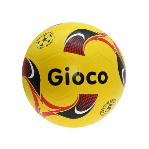 Gioco Moulded Football (5, Yellow)