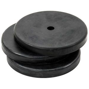 Precision Indoor Rubber Bases (Set of 3)