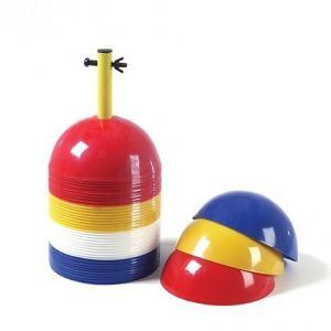 Cones - Dome Sports Markers - Set Of 40